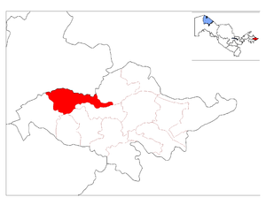 Location of Baliqchi District in Andijon Province.png