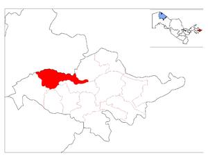 Baliqchi District - Image: Location of Baliqchi District in Andijon Province