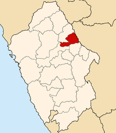 Location of the province Mariscal Luzuriaga Ancash.PNG