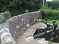Lock Gates and Bridge No 98, Trent and Mersey Canal - geograph.org.uk - 554548.jpg