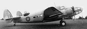 1943 RAF Hudson crash - A Lockheed Hudson Mark V, similar to the accident aircraft