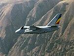 Lockheed S-3B Viking of VS-35 in flight off San Clemente Island on 15 December 1995 (6655028).jpeg