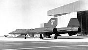 Lockheed YF-12A 60-6934 in Air Defense Command markings 1963