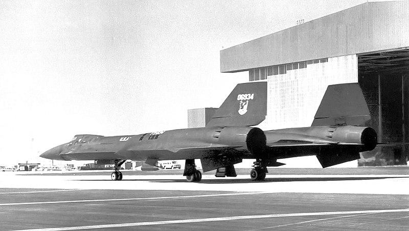 Lockheed YF-12A 60-6934 Lake Groom 1966