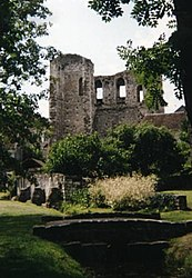 Ruins of the Tour de Ganne