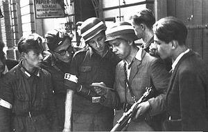 Eugeniusz Lokajski - Image: Lokajski Niemieckie ulotki (1944)