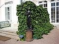 "Lomonosov. Palace and Park Ensemble ""Oranienbaum"". Upper Park. Sculpture ""Medici Venus"" at the Chinese Palace..JPG"