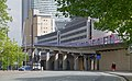 London MMB »0R8 A1261 West India Dock Road and Docklands Light Railway.jpg