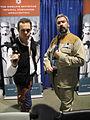 Long Beach Comic & Horror Con 2011 - Han Solo and rebel alliance general (6301708652).jpg