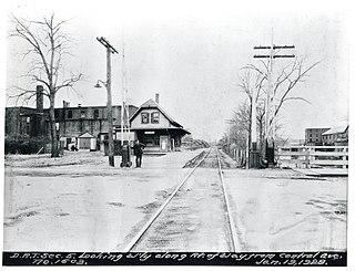 Dorchester and Milton Branch Railroad
