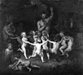 Lorenz Frølich - Woodland Deities Sourrounded by Dancing Bacchantes and Children Playing - KMS584 - Statens Museum for Kunst.jpg