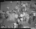 Los Angeles, California. Evacuees of Japanese ancestry entraining for Manzanar, California, 250 mil . . . - NARA - 536768.tif
