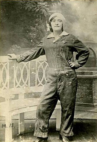 Women in World War I - Lottie Meade, munitions worker who died of TNT poisoning