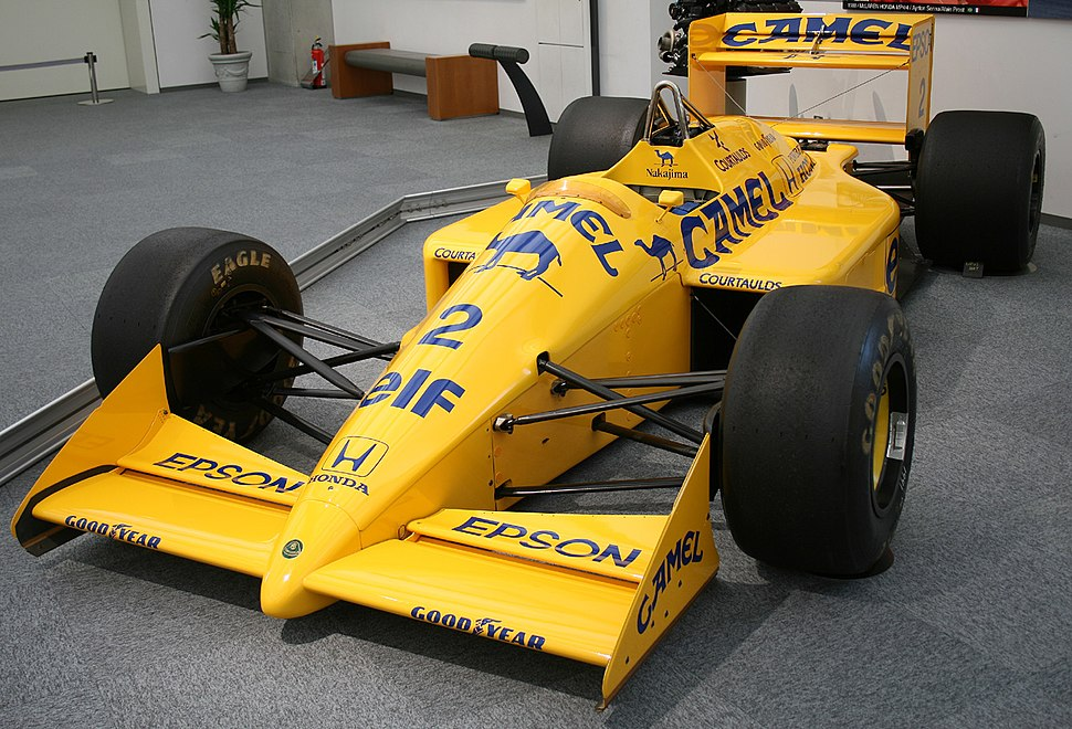 Lotus 100T left Honda Collection Hall