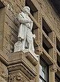 Louis Agassiz and Alexander von Humboldt statues at Jordan Hall, Stanford (cropped).jpg