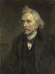 Portrait de Louis Jacques Veltman (1817-1907). Acteur