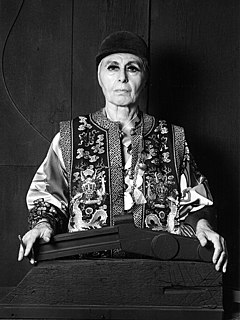 Louise Nevelson American sculptor