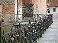 Love padlocks, Olsztyn.JPG