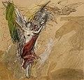 Luc-Olivier Merson - Libertad - Etude de figures volantes 01.jpg