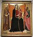 Luca di tommè, madonna col bambino tra i santi nicola e paolo, 1370 ca..JPG