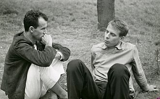 Luigi Nono - Nono and Karlheinz Stockhausen in Darmstadt, summer 1957