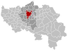 Khu tự quản Liège trong tỉnh Liège