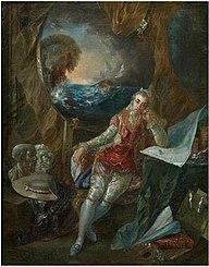 Autoportrait de l'Artiste dans son atelier