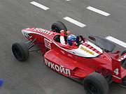 Lukoil Racing Team driver Michael Antonov