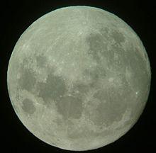 lune gibbeuse decroissante