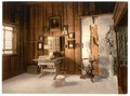 Luther's study, Wartburg, Thuringia, Germany-LCCN2002720777.tif