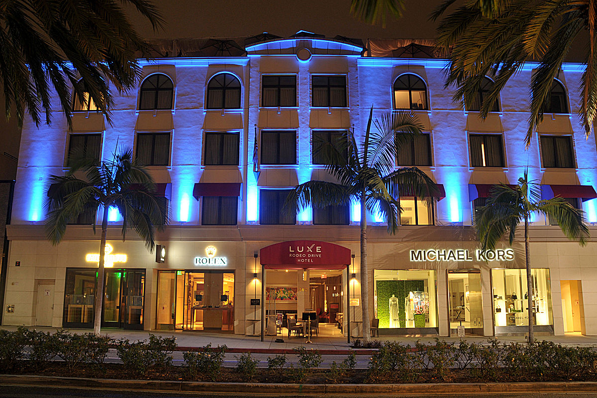 Luxe rodeo drive hotel wikipedia for Hotel luxe design