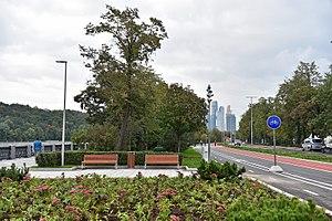 Luzhnetskaya Embankment - Image: Luzhnetskaya Embankment