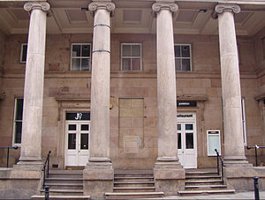 The Lyceum, Liverpool - The building's main entrance