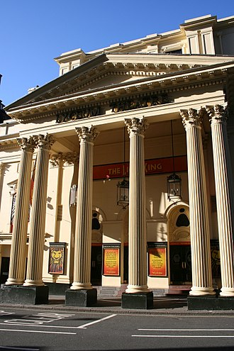 Lyceum Theatre, London - The Lion King has been showing at the theatre since 1999