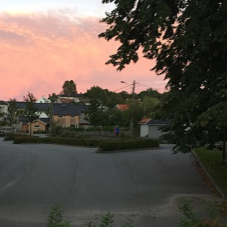 Møvik - View of the neighborhood