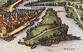 Münden 1584 Franz Hogenberg1 cropped Tanzwerder.jpg