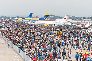 MAKS Air Show - Image: MAKS Airshow 2015