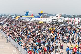 MAKS (air show) - Image: MAKS Airshow 2015
