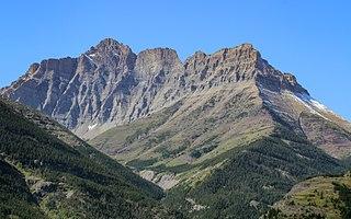 Mount Blakiston Mountain in Waterton Lakes NP, Canada