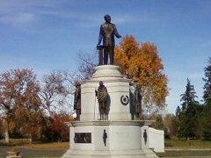City Park, Denver - Dr. Martin Luther King Jr. statue in City Park, Denver