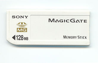Memory Stick - Sony Memory Stick with MagicGate