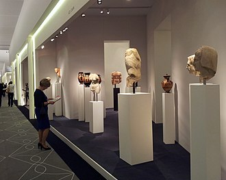The European Fine Art Fair - Greek and Roman sculptures for sale in 2014