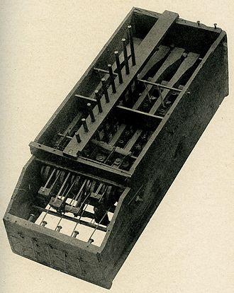 Comptometer - Image: Macaronibox