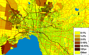 Macedonian Australians - Macedonians are concentrated in North and North-West Melbourne and in Geelong