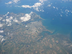 Mackay, Queensland - City of Mackay viewed from the air.