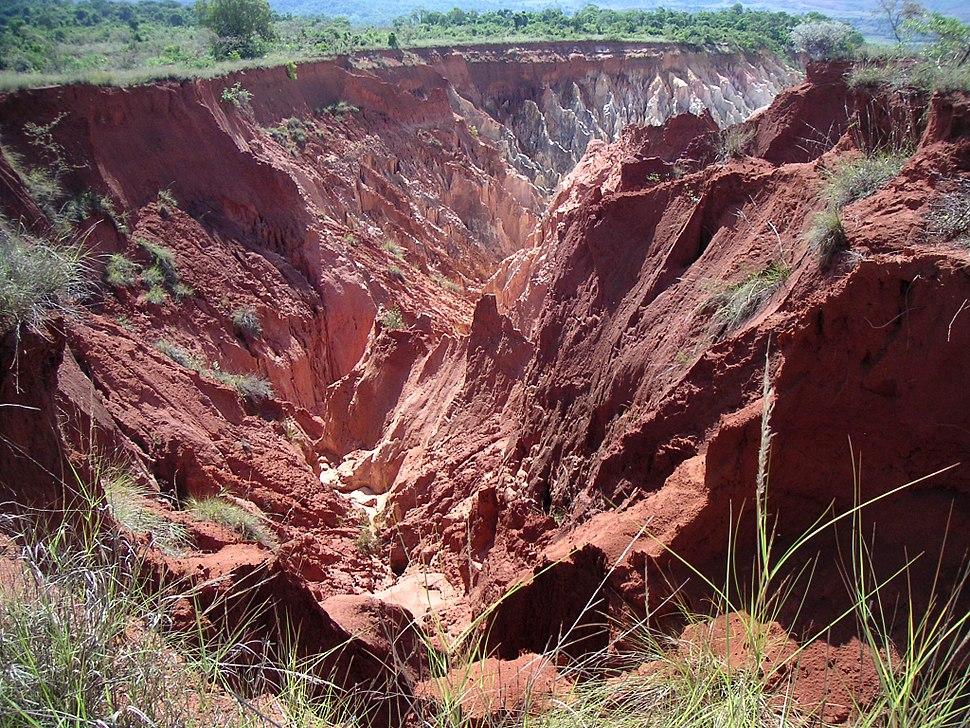 Madagascar erosion