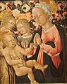 Madonna and Child with Angles by Giovanni di Paolo, San Diego Museum of Art.JPG