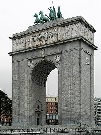 Modesto López Otero - Arco de la Victoria, Madrid
