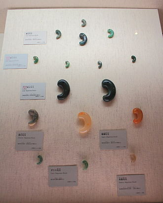 Magatama - Magatamas in Kofun period