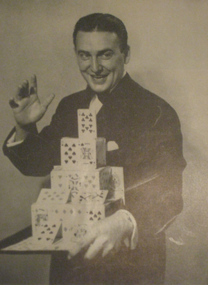 Milbourne Christopher - Image: Magician Milbourne Christopher